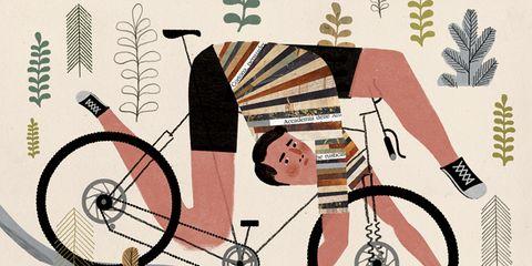 Pattern, Bicycle, Illustration, Circle, Bicycle frame, Graphics, Drawing, Creative arts, Artwork, Graphic design,
