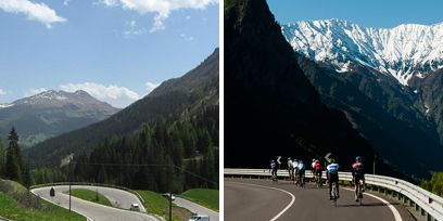 Road, Nature, Mode of transport, Mountainous landforms, Mountain range, Bicycles--Equipment and supplies, Natural landscape, Highland, Lane, Asphalt,