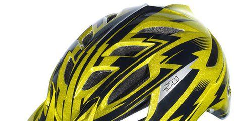 Helmet, Bicycles--Equipment and supplies, Yellow, Bicycle helmet, Sports gear, Sports equipment, Personal protective equipment, Headgear, Light, Black,