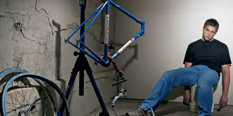 Bicycle frame, Bicycle tire, Bicycle wheel rim, Bicycle part, Bicycle fork, Bicycle accessory, Jeans, Bicycle, Denim, Bicycle wheel,