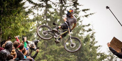 Tire, Wheel, Soil, Stunt performer, Bicycle wheel, Stunt, Extreme sport, Bicycle tire, Bicycle, Bicycle frame,