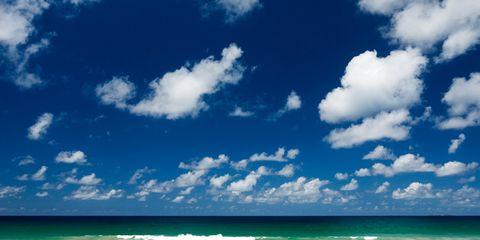 Body of water, Blue, Coastal and oceanic landforms, Fluid, Daytime, Sky, Cloud, Shore, Ocean, Coast,