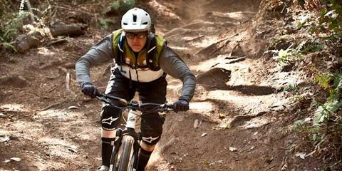 Bicycle wheel, Helmet, Mountain bike, Bicycle frame, Mountain biking, Bicycles--Equipment and supplies, Bicycle helmet, Bicycle, Sports equipment, Downhill mountain biking,