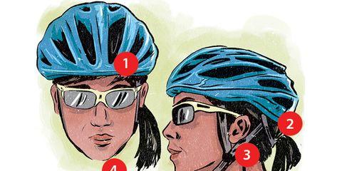 how to wear your helmet
