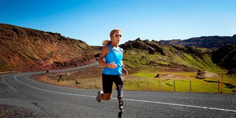 Road, Asphalt, Road surface, Infrastructure, Human leg, Running, Exercise, Hill, Shorts, Outdoor recreation,