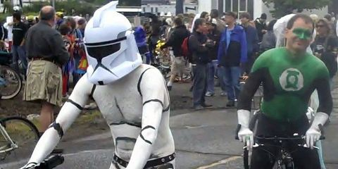 Halloween Cycling Costumes