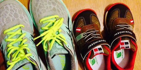 Footwear, Shoe, Yellow, White, Athletic shoe, Red, Sneakers, Carmine, Black, Walking shoe,