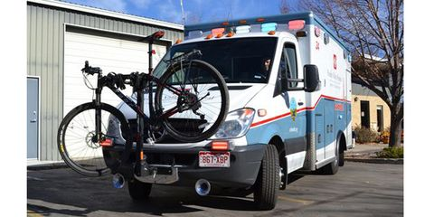 Ambulance Bike Rack