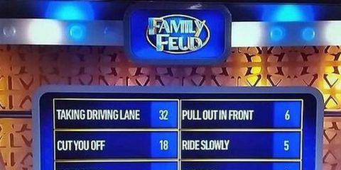 Family Feud cyclist