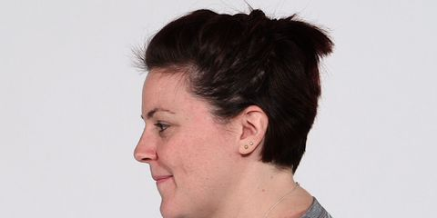 Ear, Cheek, Hairstyle, Skin, Chin, Forehead, Eyebrow, Eyelash, Style, Jaw,