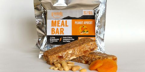 Greenbelly Peanut Apricot Meal Bar