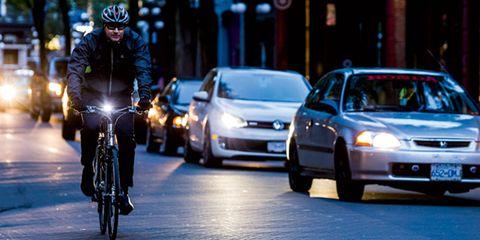 Biker road safety
