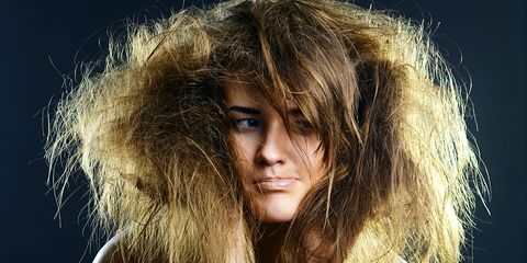 Learn how to fix fried hair, plus 3 other styling woes solved