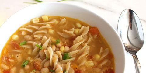 Navy Bean Corn Soup