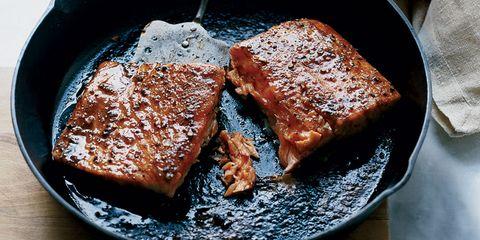 Salmon with Brown Sugar Recipe