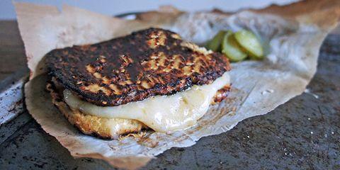 Bread-free Cauliflower Grilled Cheese Recipe by Tess Ward