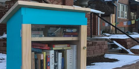 Winter, Neighbourhood, Snow, Shelf, Brick, Shelving, Freezing, Brickwork, Teal, Roof,