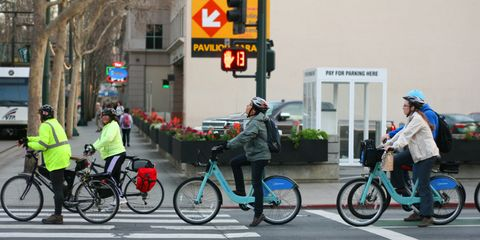 Commuters by Bike