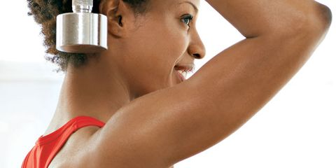 Get toned triceps.