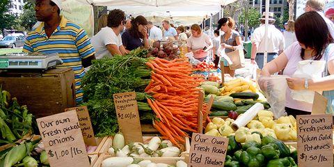 Farmers market etiquette lessons
