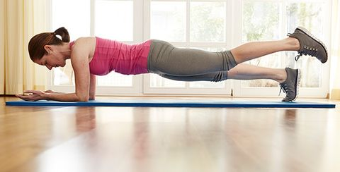 Challenge Yourself With This Equipment-Free Workout