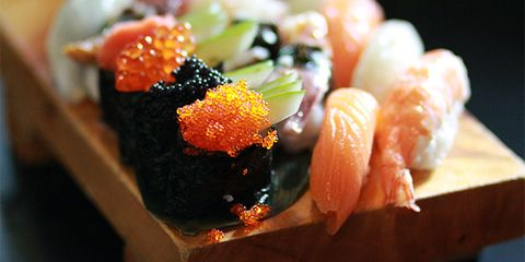 Sushi is high in mercury, which may contribute to autoimmune disease.