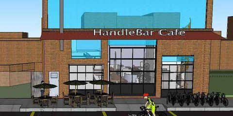 The HandleBar Bike Cafe in Baltimore