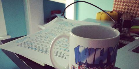 Drinkware, Mug, Cup, Serveware, Publication, Paper, Book, Porcelain, Wire, Cup,