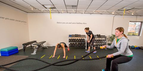 Flooring, Floor, Room, Ceiling, Exercise, Physical fitness, Active pants, Training, Balance, Hall,