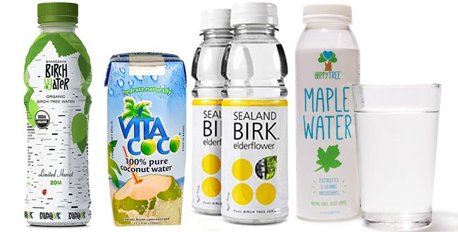 Coconut water vs maple water