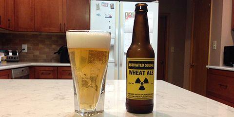 waste water beer