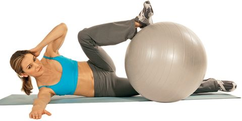 Belly Flattening Core Moves