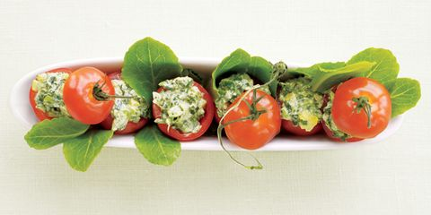 Spinach-Pesto Dip and two more flat belly dips