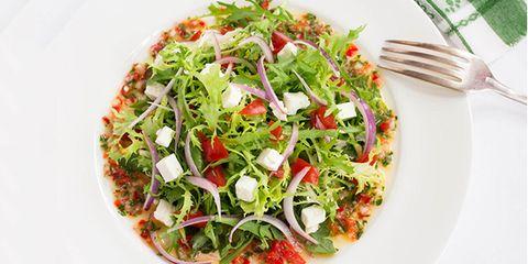frisee feta arugula salad