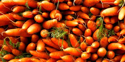 Carrots are one of 8 great picks at the farmers' market.