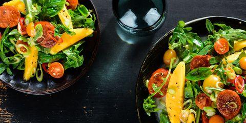 mango chorizo salad