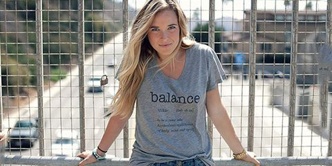 the balanced blonde