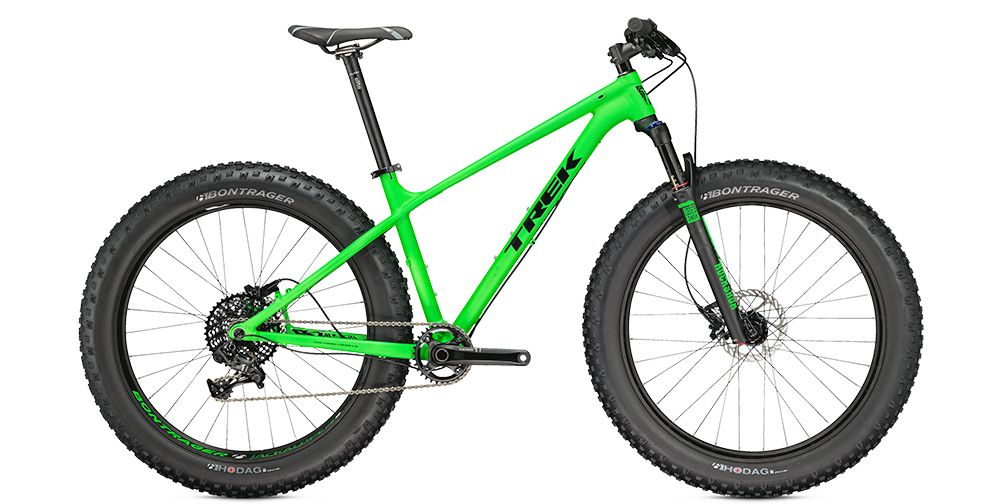 The Trek Farley 8 Loves Snow—And More | Bicycling