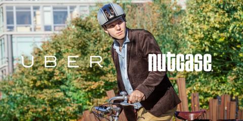 Uber helmet delivery