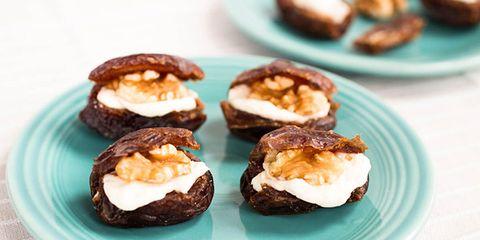 walnut cream cheese stuffed dates