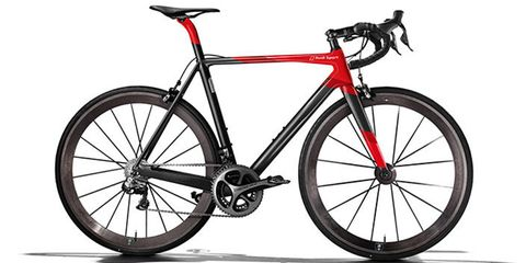 Lightweight-Audi bicycle collaboration