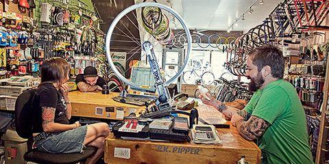 Bicycle Revolutions bike shop