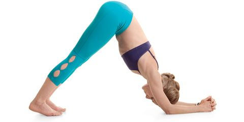 Tiffany Cruikshank shares two yoga poses to boost your mood.