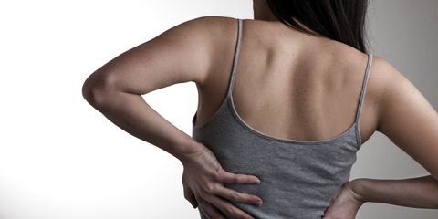 Bad habits that cause back pain.