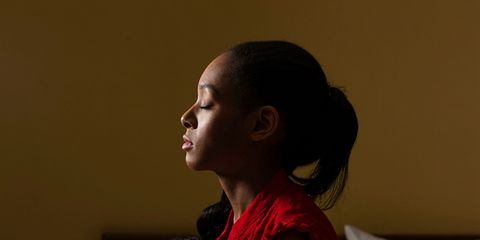 Mindfulness meditation is proven to relieve depression.