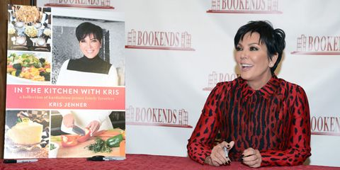Celebrities like Kris Jenner aren't automatically qualified to write cookbooks just because they're famous.