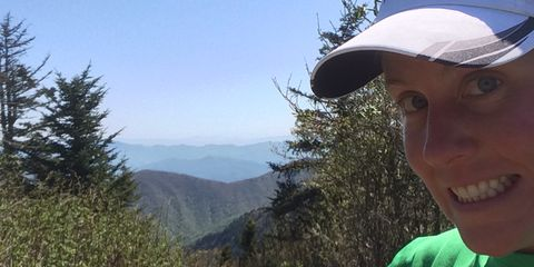 Cap, Plant community, Jaw, Baseball cap, Trail, Hill, Tooth, Forest, Wilderness, Mountain range,