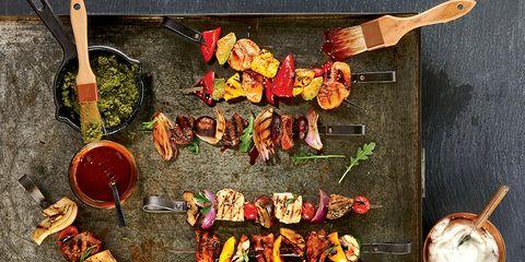 Food, Cuisine, Ingredient, Dish, Kitchen utensil, Recipe, Fast food, Meal, Kitchen knife, Garnish,