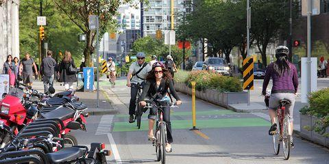 Protected Bike Lanes