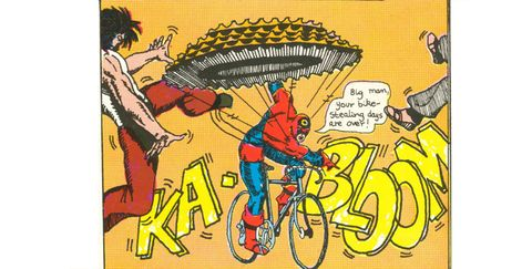 When Comic Books and Cycling Collide